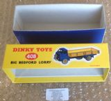 Dinky #408 ( 522 / 922 ) Big Bedford Lorry - Reproduction Box